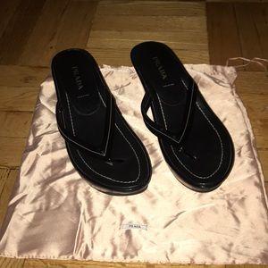 Prada patent leather sandals never worn! Size 40